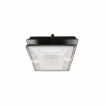 20W LED Canopy Light w/ Backup & Sensor, Type VS, 2374 lm, 120V-277V, 5000K