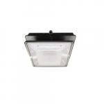 20W LED Canopy Light w/ Backup & Sensor, Type VS, 2278 lm, 120V-277V, 4000K