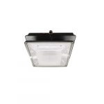 20W LED Canopy Light w/ Backup & Sensor, Type VS, 2278 lm, 120V-277V, 5000K