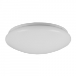 13-in 20W LED Puff Flush Mount, Triac Dimming, 120V, Selectable CCT