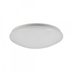 15-in 24W LED Puff Flush Mount, Triac Dimming, 120V, Selectable CCT