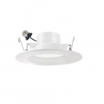 6-in 13W LED Residential Retrofit Downlights, 1000 lm, 120V-277V