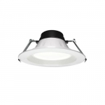 10-in 40W LED Universal Downlights, 3500 lm, 120V-227V, CCT Selectable
