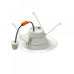 5/6-in 10.5W LED Downlight, Dimmable, 900 lm, 120V, Selectable CCT