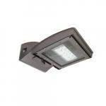 55W LED Wall Light w/ 0 Deg Backup & Photocell, Type IV, 6200 lm, 120V-277V, 4000K