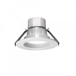 4-in 12W LED Universal Downlights, 900 lm, 120V-347V, CCT Selectable