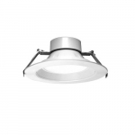 8-in LED Universal Downlights, 120V-347V, CCT Selectable