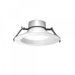 9.5-in LED Universal Commercial Downlights, Selectable Wattage, 120V-347V