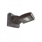 55W LED Wall Light w/ 0 Deg Backup & Photocell, Type III, 6200 lm, 120V-277V, 4000K