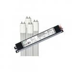 4-ft 11.5W LED T8 w/ External Driver, 3-Lamp, G13, 120V-277V, 3500K