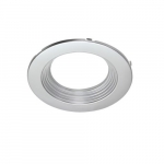 6-in Trim Kit for Residential Downlights, Silver