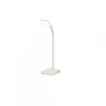 4W LED Slim Desk Lamp w/ USB 2.0 Port, 225 lm, 3000K, White