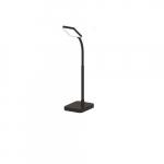 4W LED Slim Desk Lamp w/ USB 2.0 Port, 225 lm, 3000K, Black