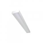 4-ft 46W LED Utility Wrap Fixtures w/ Motion Sensor, 6062 lm, 4000K