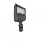 130W LED Flood Light w/ Slipfitter Knuckle Mount & Photocell, 4000K