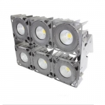630W LED Stadium Light w/Arch Yoke Mounting Bracket, 5000K, 347-480V