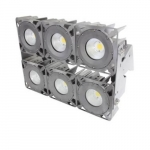 630W LED Stadium Light w/Pole Mounting Bracket, 5000K