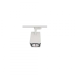40W LED Track Light, Square, E26 Base, White