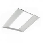 30W 2x2 Edge-Lit LED Troffer Retrofit Kit, Dimmable, 3500K