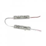 1W Channel Letter 3 LED Module, 93 lm, 12V, 6500K