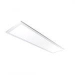 30W 1x4-ft Edge Lit LED Flat Panel w/Battery Backup, 0-10V Dim, 3510 lm, 4100K