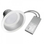 12W 6-in ECO Serie Commercial LED Downlight, 980 lm, 0-10V Dimmable, 4000K