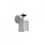 17W Outdoor Wall Lantern, 80W Inc Retrofit, 2700K, White