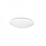"14W 11"" LED Ceiling Fixture, Cloud White, 2700K"