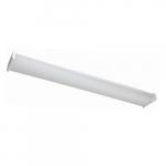4-ft 40W LED Utility Wrap Light, Dimmable, 4289 lm, 120V-277V, 4000K