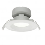 8W 4-in J-Box Serie LED Recessed Can Light, 651 lm, Dimmable, 4000K