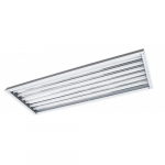 4-ft LED Linear High Bay Fixture w/10-ft Cord (120V), Single-End, 6-Lamp