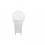 9W LED A19 Bulb, GU24 Base, Dimmable, 3000K