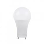 11W LED A19 Bulb, GU24 Base, Dimmable, 3000K