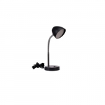 3.5W LED Desk Lamp w/ USB 2.0 Port, 220 lm, 3000K, Black