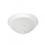 "15"" 24W LED Flush Mount, Traditional, 150W Inc. Retrofit, Dim, 1680 lm, 3000K, White"