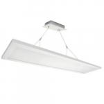 1x4 36W LED Pendant Panel Light, Direct/Indirect, 0-10V Dimming, 4396 lm, 3500K