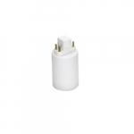Base Extender for Vertical PL LED Lamps, G24q Base