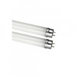13W 4 Ft LED T5 Tube, Ballast Bypass, Coated Glass, 5000K