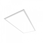 30W 2x4 LED Flat Panel, 0-10V Dimmable, 3433 lm, 3500K