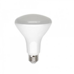 8W LED BR30 Light Bulb, Dimmable, 4000K