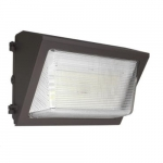 28W LED Wall Pack w/ Photocell, Open Faced, 0-10V Dim, 150W MH Retrofit, 3640 lm, 4000K