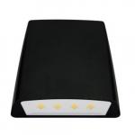 70W LED Wall Pack w/ Photocell, Thin Cut Off, 0-10V Dim, 250W MH Retrofit, 7790lm, 4000K
