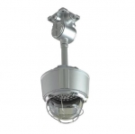 "23W Hazard Location LED Low Bay Light w/ 20"" Long Pendant Mount, 5000K"