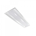 36W 1' X 4' ArcMax LED Troffer Replacement, Dimmable, 4000K