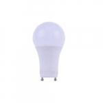 15W LED A19 Bulb, GU24 Base, Dimmable, 1600 Lumens, 3000K
