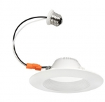 11W 6-in LED Recessed Can Light, 848 lm, Dimmable, 4000K