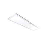 1x4 20W LED Flat Panel w/ Sensor, Dim, 2422 lm, 120V-277V, 4000K