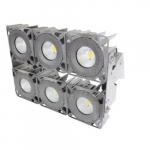 630W LED High Output Stadium Flood Lights, 347-480V, 1500W MH Retrofit, 62260 lm, 5000K