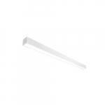 60W LED Strip Light, 4x32W T8 Retrofit, Dimmable, 7789 lm, 3500K