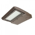 100W LED Area Light, Type V, 0-10V Dimming, 250W MH Retrofit, 12460 lm, 4000K, Silver